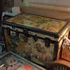 just a cheap trunk, but with some great decoupage on it