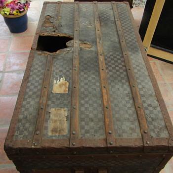 A Damier In Distress - Furniture