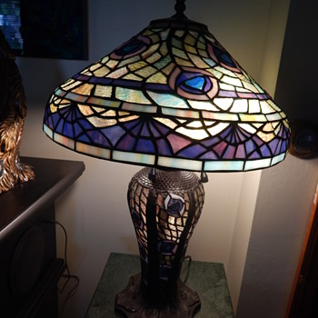 peacock type lamp - Lamps
