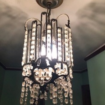 Crystal chandelier  - Lamps