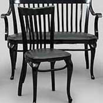 Adolf Loos Furniture for the Café Capua in Vienna, 1913. - Furniture