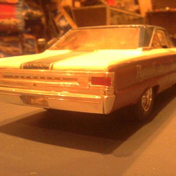 '67 Belvedere Sox & Martin built model. - Model Cars