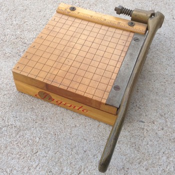 No. 1 Ingento paper cutter - Tools and Hardware