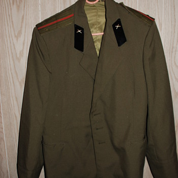 Military Jacket, Unk. county or year?? - Military and Wartime