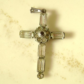 Cross Sterling Silver Pendant - Fine Jewelry