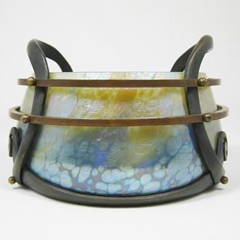 Loetz Phänomen genre 85/5039 ca. 1902 Bakalowits - Art Glass