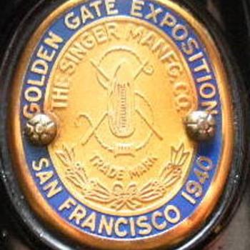 """Golden Gate Exposition - San Francisco 1940""  Featherweight 221"