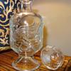 Unidentified Glass Dragon Decanter