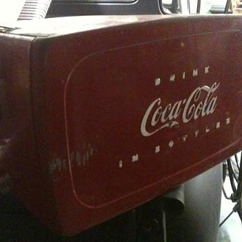 My new coke cooler - Coca-Cola