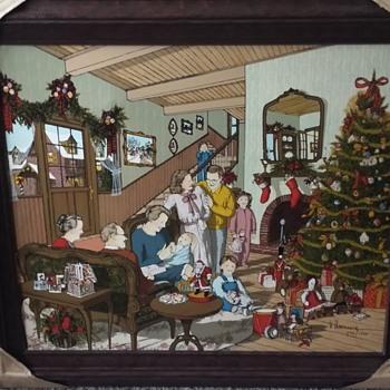 H Hargrove Baby's 1st Christmas