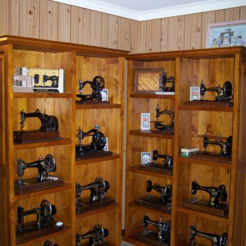 My antique sewing machines (some of them) - Sewing