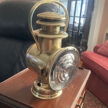 Antique DIETZ driving light?  - Lamps