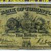 THE BANK OF TORONTO ( 1935 ) Five dollars