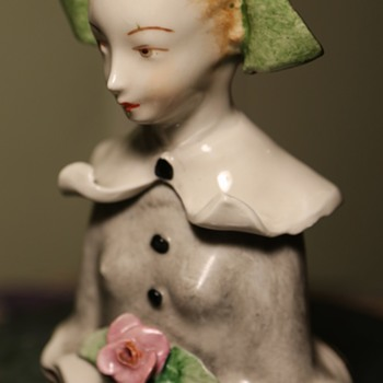 Bust of a young woman by Boleslaw Cybis - Cordey China Co. - Trenton, NJ - 1940s - Figurines