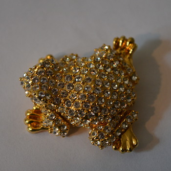 Help with marking on rhinestone brooch - Costume Jewelry