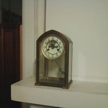Glass and Brass? Waterbury - Clocks