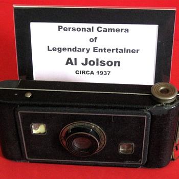 Al Jolson's Personal Camera - Cameras