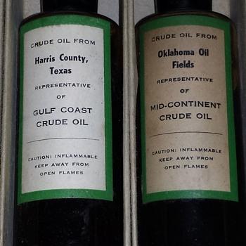 Antique Crude Oil Bottles  - Bottles