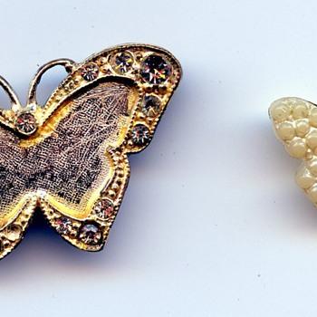 Butterfly Broach - Costume Jewelry