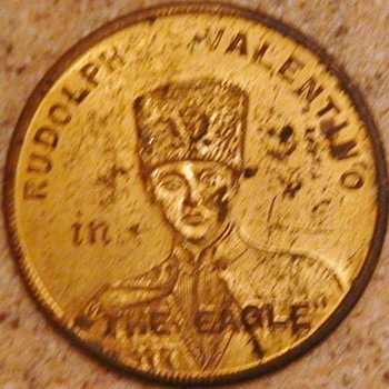 "Rudolph Valentino Coin ""The Eagle"" 1925 Mark Strand Theatre Brooklyn, NY"