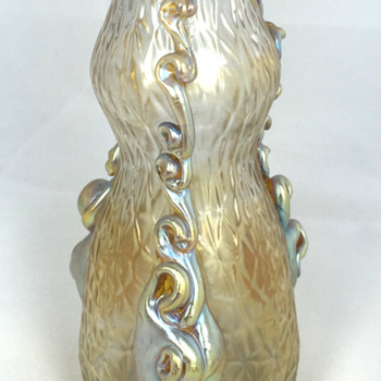 "Loetz ""Nautilus"" Vase. 4.75"" Tall. Circa 1903 - Art Glass"