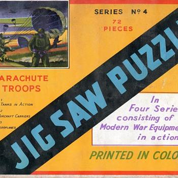HELP - Info required - British World War Jig Saws in sealed envelopes