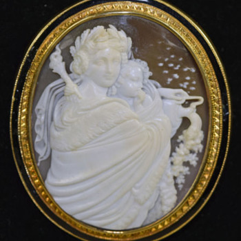Rare cameo of Eos the Goddess of the Dawn
