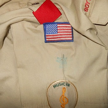 Fabulous Fourth Flag Boy Scout Wolf Patrol Patch Circa 1980s - Medals Pins and Badges