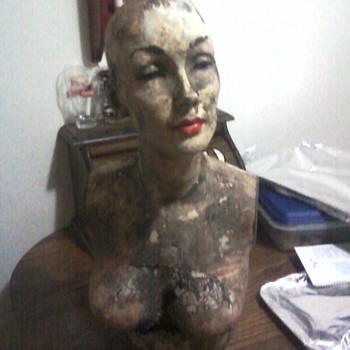 creepy mannequin - Advertising