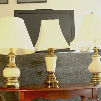 Three Lamps I think were made by the same company, but whom?? - Lamps