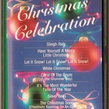 """""""Christmas Celebration"""" - Cassette Tape"""