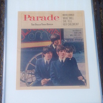 THE BEATLES HOW LONG WILL THEY LAST PARADE  MAGAZINE  1964 - Music Memorabilia
