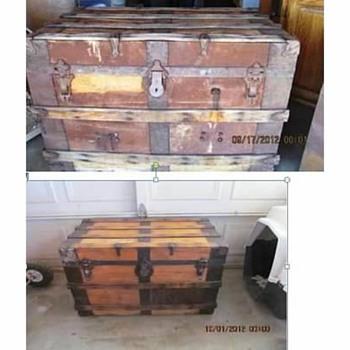 Antique Trunk #2 - Furniture
