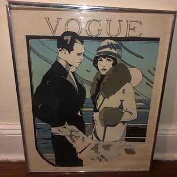 Vintage vogue print - Fine Art
