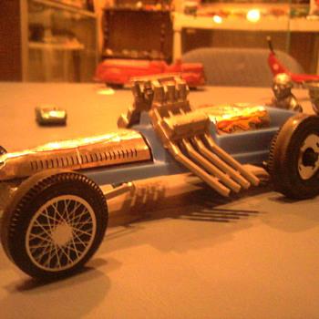 Korris Kars Hot Shot dragster.  A great dime store find. - Model Cars