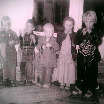 Halloween 1956 - Photographs