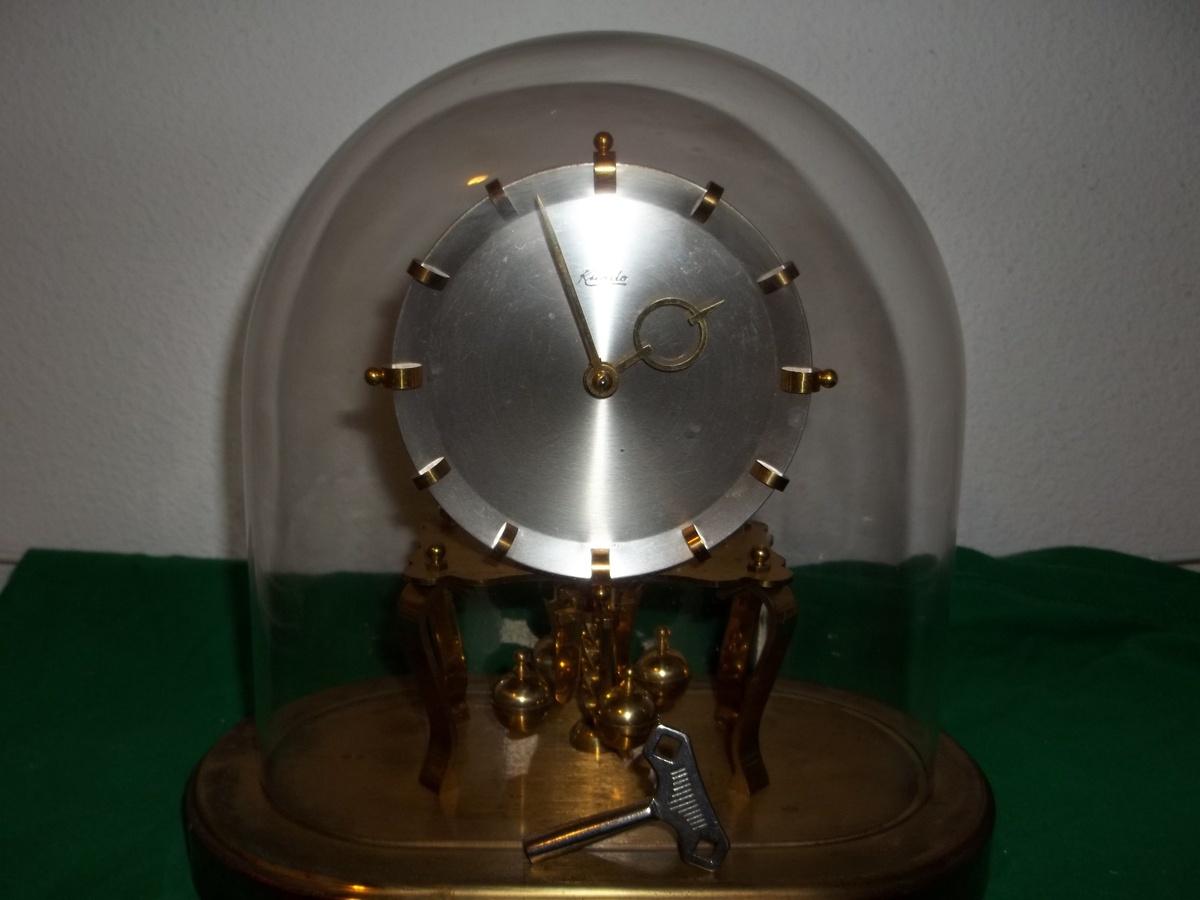 torsion clock. kieninger \u0026 obergfell kundo oval anniversary clock. | collectors weekly torsion clock