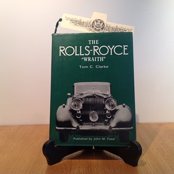 ROLLS-ROYCE WRAITH by TOM C CLARKE. - Books