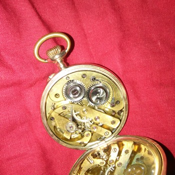 watch no. 284431 9k gold - Pocket Watches