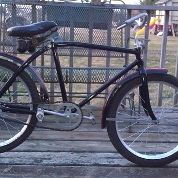 "1930s ""AMERICAN"" BICYCLE MADE BY AMERICAN NATIONAL CO. OHIO 20 INCH CHILDS BICYCLE - Sporting Goods"