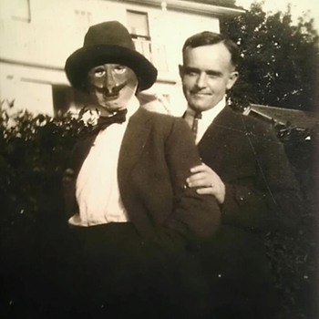 Aunt Lottie's goofy side - Photographs