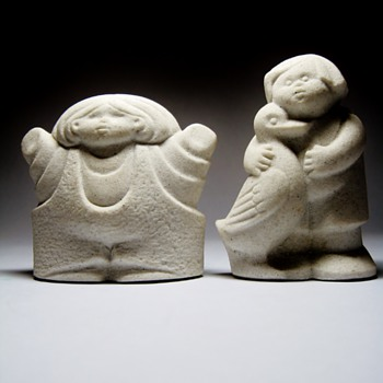 "STONE ART -BELGIUM ""MARBELL"" - Figurines"