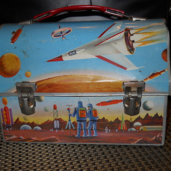 Space theme thermos lunchbox - Kitchen