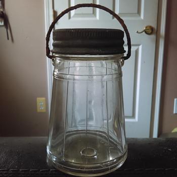 Vintage Ball pickle jar (?) With handle - Bottles
