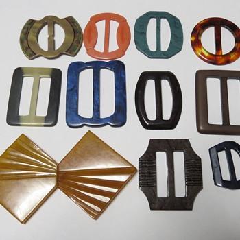 Vintage Buckles - Accessories