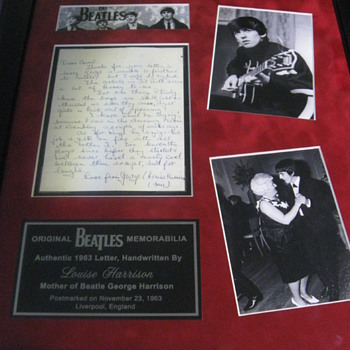 The Beatles  .  .  .  Original Memorabilia