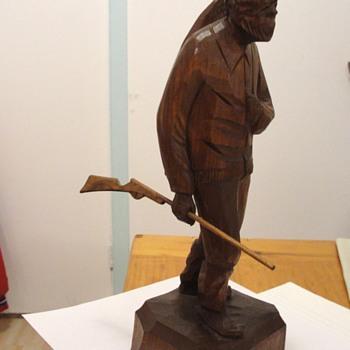 Carved sculpture habitant.