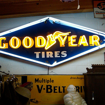 Goodyear Neon Sign - Signs