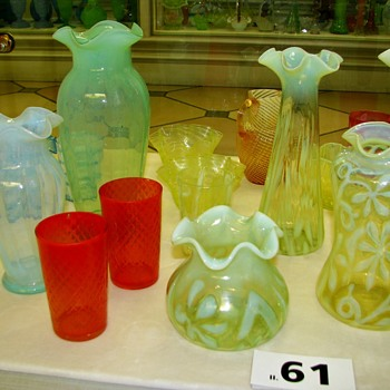 More Extensive Documentation Covering Harrach Brocat Glass: Missouri - Art Glass