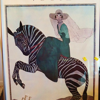 Two Frames for $10  Are Posters special? VOGUE 1926 & 1919